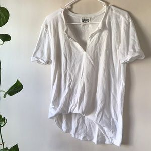 White T-Shirt With Details